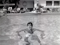 Rock Hudson at The Racquet Club circa 1954 or 55