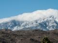 Winter storm, looking at Mt. San Jacinto