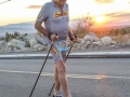 92 year old Mr. Bill Bell at the 29th Palm Springs Tram Challenge