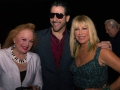 Songwriter Carol Connors, Suzzane Somers and Artist Nicolosi