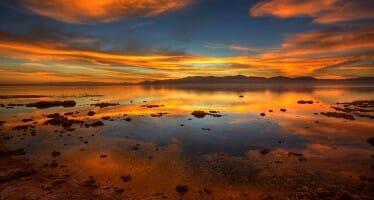 Salton Sea Sunset