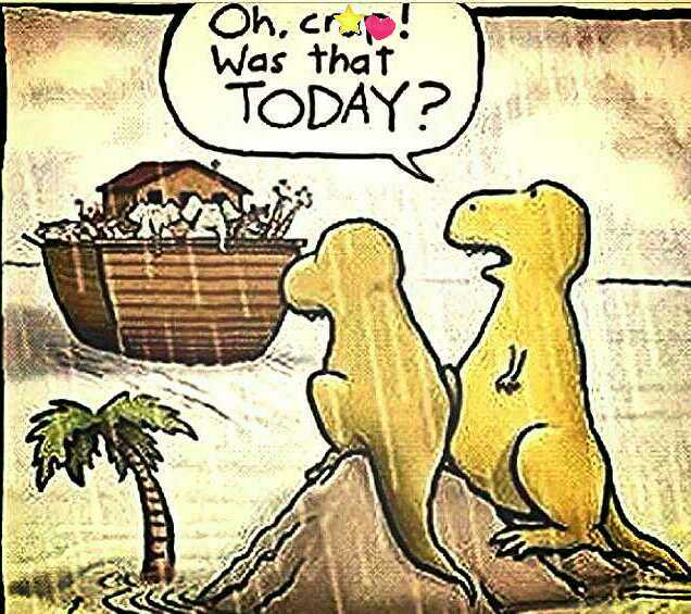 Now You Know How the Dinosaurs Really Became Extinct! Coachella Valley Funny!