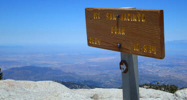Cool off, Hike San Jacinto Peak