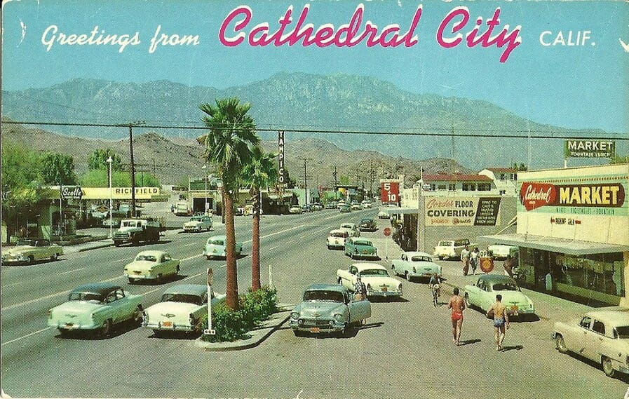 Cathedral city history in pictures coachella valley for Desert motor palm desert ca
