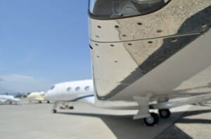 From the winglet's POV on a G650