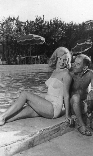 September 1941, Maryln Monroe and Jim Dougherty,