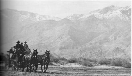 There was a Stagecoach stop in Cathedral City, behind where Target is now located.