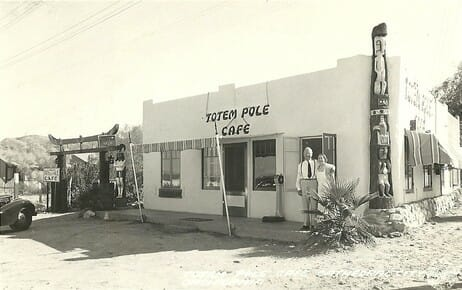 This was the first diner in Cathedral City.  It sat where the Taco Bell sits today at the corner of Hwy 111 and Cathedral Canyon.