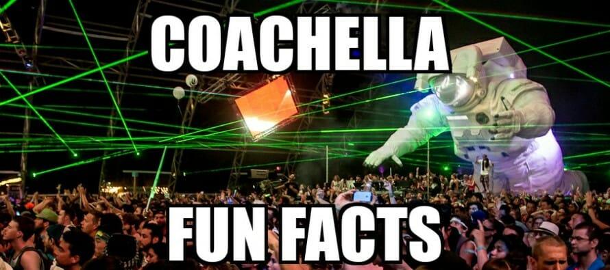 Coachella Fun Facts