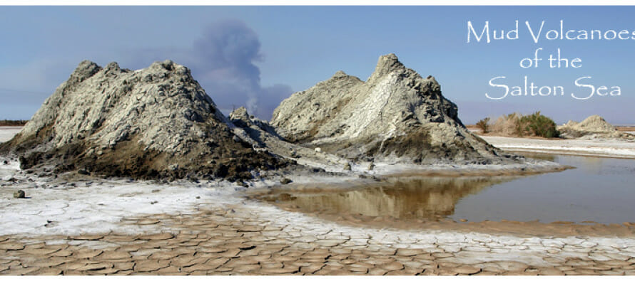 Mud Volcanoes near the Salton Sea??