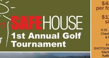 Safe House of the Desert Golf Tournament