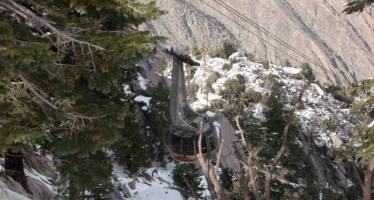 Coachella Valley's Snow Guessing Contest for the Palm Springs Aerial Tramway!
