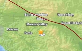 3.1 Earthquake strikes San Jacinto at 3:16pm Sunday