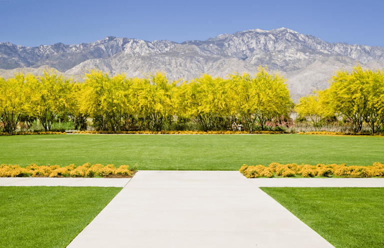 The Great Lawn at Sunnylands