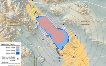 New Report Warns of Massive Public Health as Salton Sea Declines