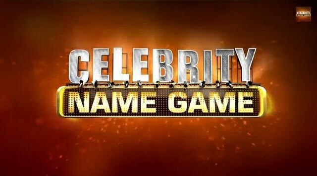 Celebrity name game stream