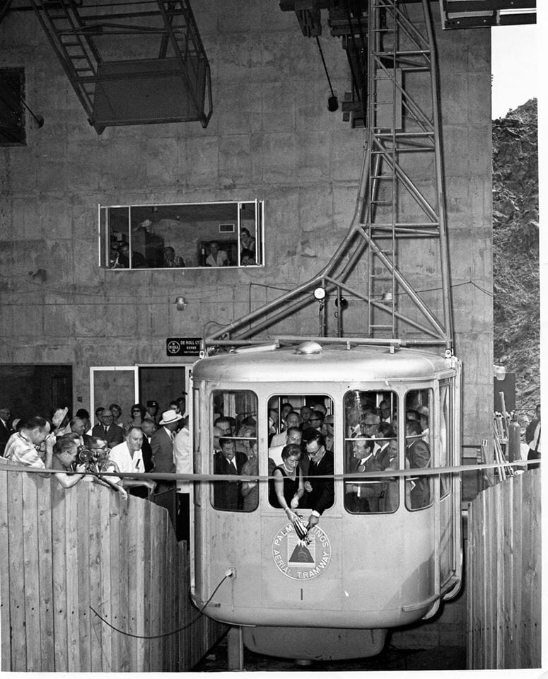Did You Know - 30 people paid $1,000 each to participate in the first ride up the Palm Springs Aerial Tramway on Sept. 12, 1963.