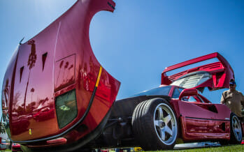A Look At the 2014 Desert Concorso Car Show!