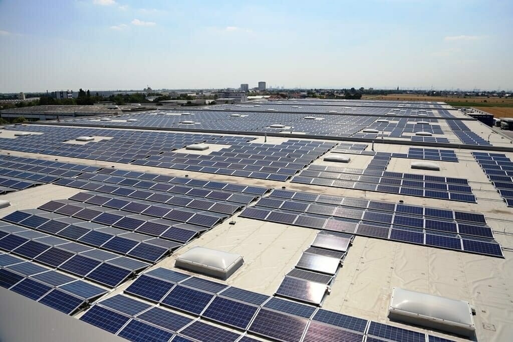 Rooftop solar in Germany. Photo courtesy of Wirsol Energy