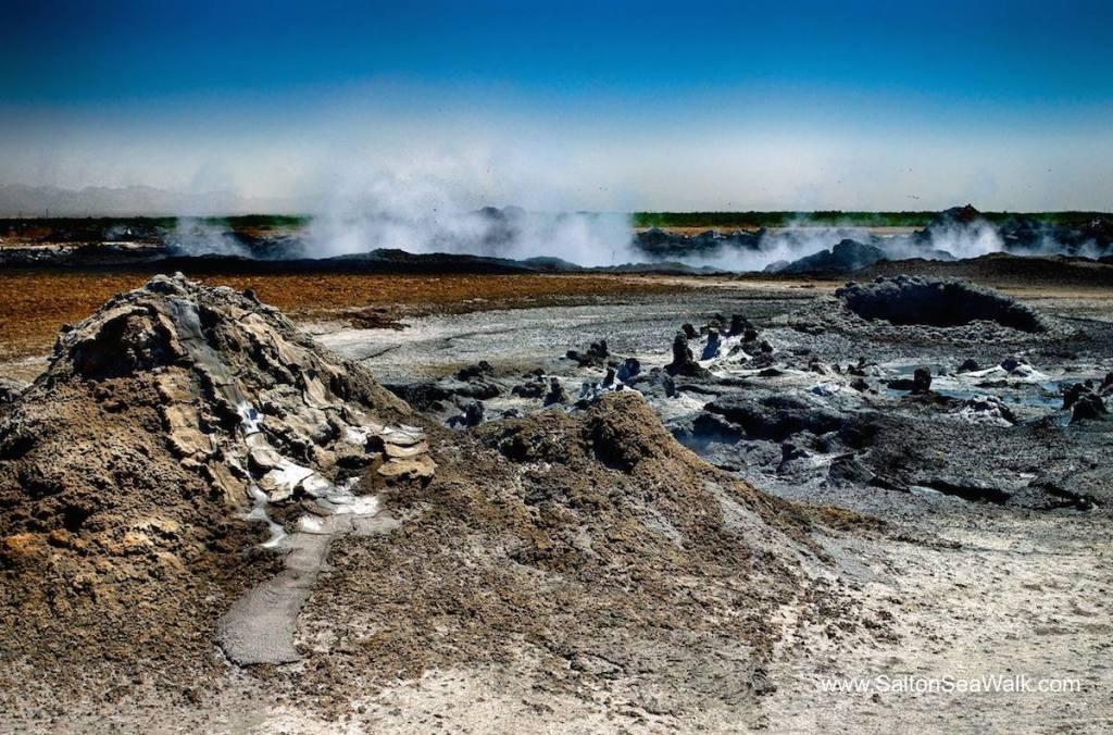 Mud Volcanoes at the Salton Sea