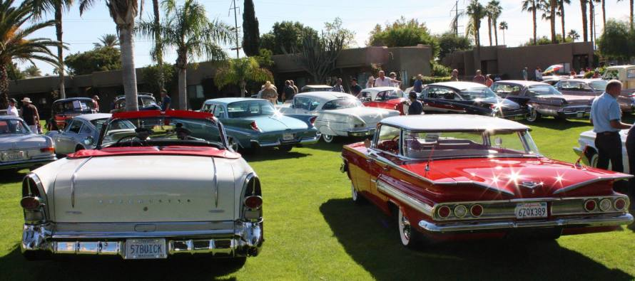 Th Annual Palm Springs Casual Concours Classic Car Show Coachella - Palm springs classic car show