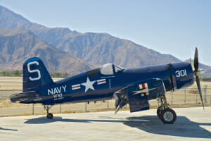 "The Corsair that inspired Skipper in the Disney Movie ""Planes"""