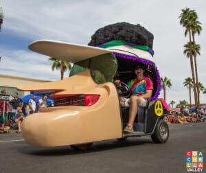 The Bob Hope Cart, always a fan favorite
