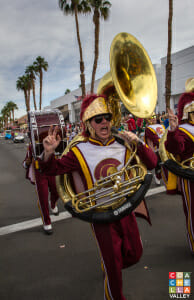 USC Marching Band bringing the energy!