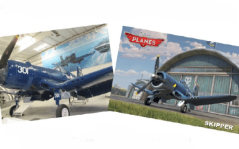 "Did You Know… Skipper from Disney's Movie ""Planes"" was Inspired by The F4U Corsair at the PS Air Museum??"