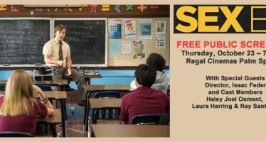 "The Palm Springs International Film Society Announces ""First Features"", A Program of Free Public Screenings"