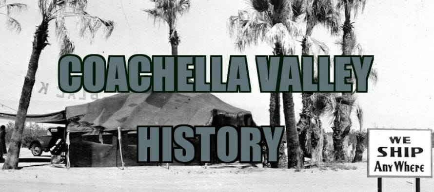 Coachella Valley History – Hepburn & Husband, Mel Ferrer