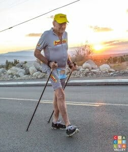 Mr. Bill Bell at the 29th Palm Springs Tram Challenge