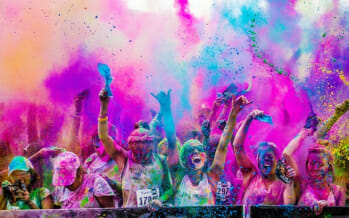 Coachella Valley Color Vibe 5k Run
