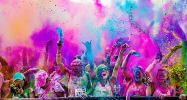 Coachella Valley Color Vibe 5k Run