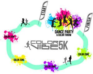 LOCATION : The Color Vibe 5k run will be held at the Lake Cahuilla Park Address: Lake Cahuilla Park, 58075 Jefferson St., La Quinta, CA 92253