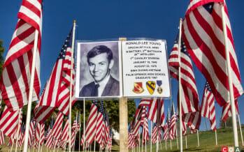 8th Annual Healing Field Comes Alive in Cathedral City