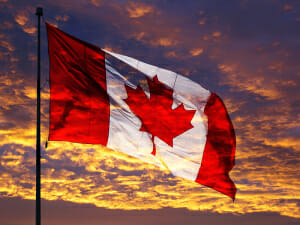 Canadian Flag.  Photo by Lone Primate Flickr Cc