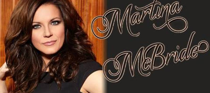 SPOTLIGHT 29 CASINO PROUDLY PRESENTS  COUNTRY SUPERSTAR MARTINA MCBRIDE: THE EVERLASTING TOUR