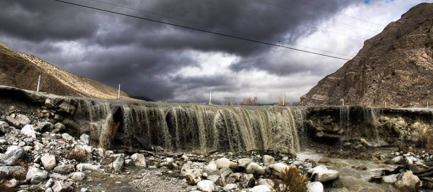 California's Storm: The Coolest View You Will See Today
