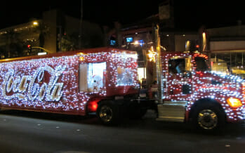 Palm Springs Festival of Lights Parade….This Saturday, December 6th!