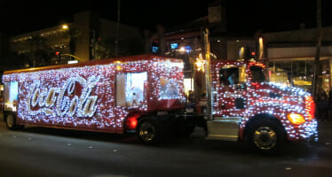 Palm Springs Festival of Lights Parade….This Saturday, December 7th!