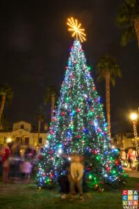 Old Town La Quinta Christmas Tree