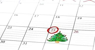 Why is Christmas Day on the 25th of December?