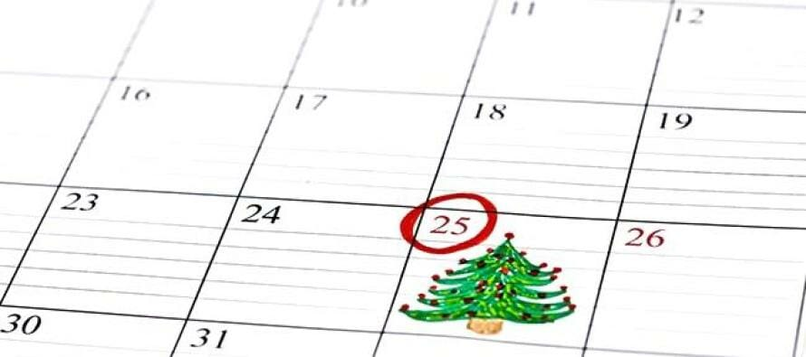 why is christmas day on the 25th of december