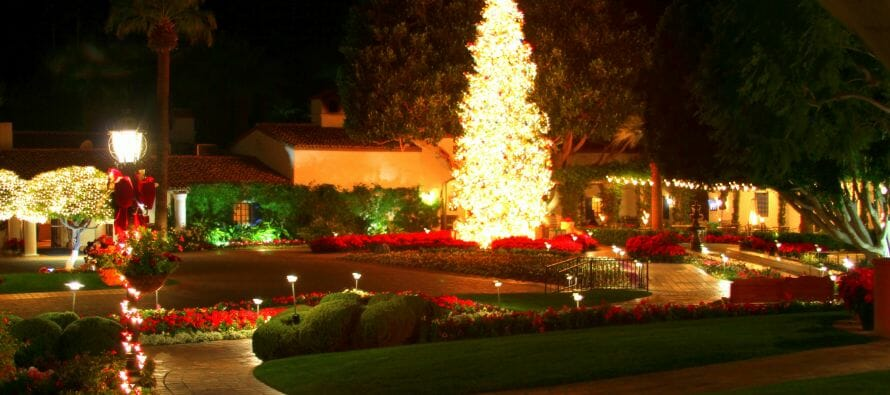 Coachella Valley and the Greater Palm Springs Area Guide to Christmas Tree Lighting's