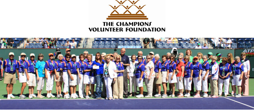 THE CHAMPIONS VOLUNTEER FOUNDATION CELEBRATES AND DONATES TO 44 LOCAL NON-PROFIT ORGANIZATIONS