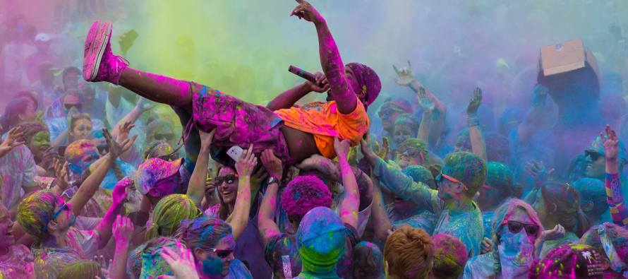 THIS WEEKEND!! Coachella Valley Color Vibe 5K