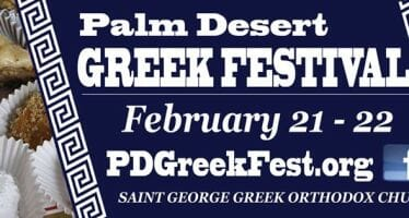 19th Annual Palm Desert Greek Festival