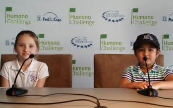 First Tee Coachella Valley Kids go behind the scene, Humana Challenge