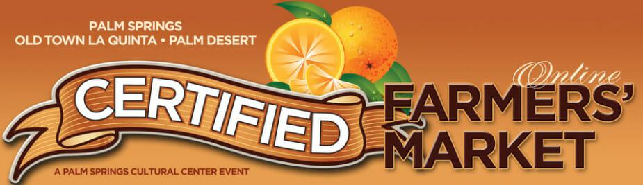 Certified Farmer's Market starts evening Market Wenesdays. 4p-8p through May